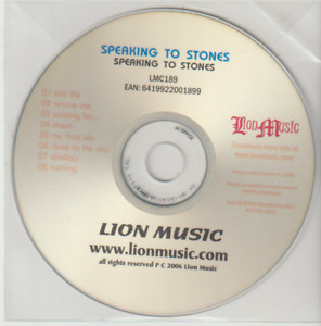 Speaking To Stones - Speaking to Stones (2006) PROMO ALBUM
