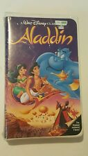 Walt Disney Classic Aladdin Black Diamond Edition VHS #1662 Factory BNIP [126]