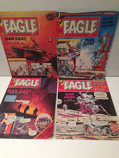 Eagle Comic Dan Dare 2nd, 9th April 28th May 4th June 1983