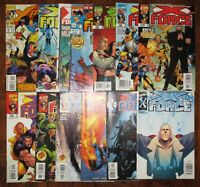 X-Force MARVEL Comics Lot Cable 24 58 60 69 85 86 90 98 99 101 104 112 X-Men