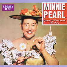 MINNIE PEARL - Queen of the Grand Ole Opry (country/comedy) CD [B7]