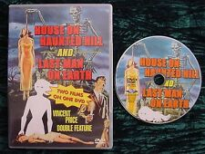 House on Haunted Hill/Last Man on Earth (DVD, 2001) Two Movies Vincent Price