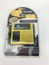 AM / FM / Weather band  Pocket Radio With Pivoting LED Night Light New Sealed