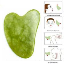 Jade Gua Sha Board Gesichtskörpermassage Chinesisches Medizin Natural Scraping