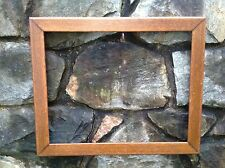 Antique Arts & Crafts Period Mission Oak Print Painting Picture Frame 1910-1930s