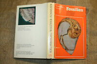 FB Fossilien,Paläontologie,Gesteinskunde,Geologie,DDR 1979,Fundorte,Ausgarbungen