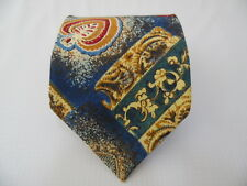 ALCIONE SILK TIE SETA CRAVATTA MADE IN ITALY  A1877