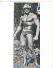 bodybuilder DAVE DRAPER Outdoors Bodybuilding Muscle Photo B&W