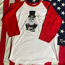 1976 Signed Vintage Leon Russell 'Paradise' Shirt.
