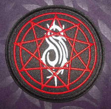 """Slipknot Patch Embroidered """"S"""" Logo Patch Knotfest Stone Sour Sew/ Iron Diy"""