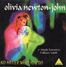 CD Single Olivia NEWTON-JOHN No matter what you do 3-track CARD SLEEVE NEW SEALE