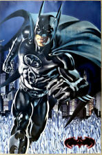 DC Comics BATMAN Glow In The Dark Vintage Poster