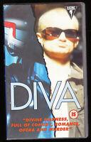 DIVA - FREDERIC ANDREI, RICHARD BOHRINGER - SUBTITLES - VHS PAL (UK) VIDEO, RARE