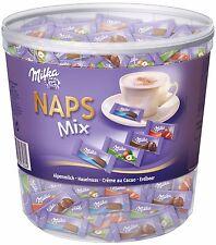 (1000g=16,89€) Milka Naps Mix - Schokolade Täfelchen - 1000 Gramm
