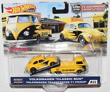 Hot Wheels 2020 Team Transport Case H Volkswagen Classic Bug Vw Transporter T1