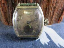 1930 Illinois 307 Art Deco Mens 17J Winding Watch Runs RP21