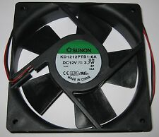 Sunon 120 mm 3000 RPM Cooling Fan - 12 V - 90 CFM - 44.5 dB - KD1212PTB1