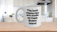 Cape Breton Island Mug White Coffee Cup Highlands National Park Best Memories