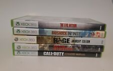 Xbox 360 Game Lot ( 5 Games ) All Complete In Amazing condition