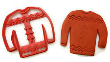 Ugly Christmas Sweater cookie cutter fondant cutter