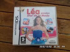 JEU NINTENDO DS  3DS : LEA PASSION STAR DE LA MODE    G52