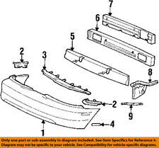 FORD OEM 94-98 Mustang-Bumper Trim-Reflector Right F4ZZ13A565A