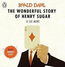 The Wonderful Story of Henry Sugar and Six More by Roald Dahl (CD-Audio, 2017)