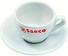 Saeco 6er Cappucinotassen + Untertassen 200ml Cappucino Gastro Kaffeetassen illy