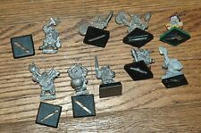 Warhammer Dwarfs Assorted(9 old metal)