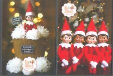Elf on the Shelf 2 postcards 2018 mint Ireland issue