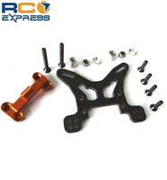 Hot Racing Axial EXO Terra Graphite Front Shock Tower AEX28G03