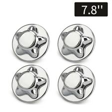 "4x 7.8"" Chrome Wheel Center Hub Cap Cover for Ford F150 97-04 16inch Rims 5 Lugs"