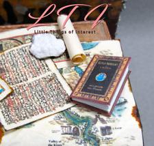 EGYPTIAN ARCHEOLOGY Miniature Dollhouse Book 1:12 Scale Illustrated Readable