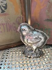 Primitive Vintage Style Easter Springtime Faux Baby Chick Cookie Mold Figurine