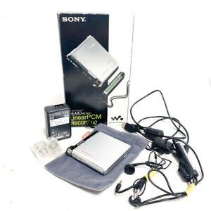 SONY Mz-Rh1 Minidisc Recorder Player Hi-MD Walkman Minidisc Mp3 Digital Box