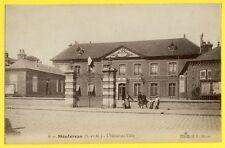 CPA France 77 - MONTEREAU (Seine et Marne) L'HÔTEL de VILLE Animés