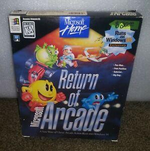 Microsoft Return of Arcade (PC, 1998) BIG Box