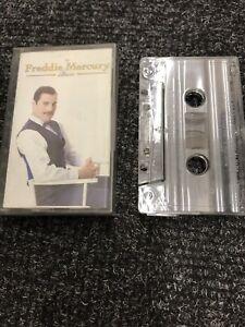 THE FREDDIE MERCURY ALBUM CASSETTE TAPE.