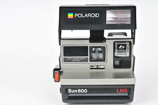Polaroid Sun 600 LMS Instant Film Camera - With Manual & Vintage Carry Case