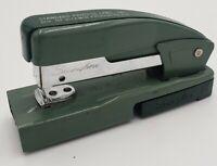 Vintage Green Swingline Model 95 Stapler Storage Staple Remover