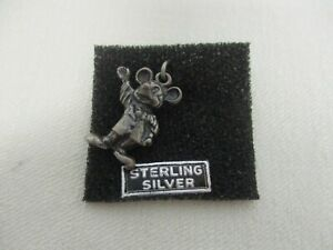 VINTAGE WALT DISNEY PROD STERLING SILVER MICKEY MOUSE CHARM ~ MINT NOT WORN!
