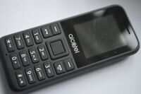 Alcatel OneTouch 1066  (Unlocked) Basic Button Mobile Phone - Black
