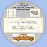 Ford Consul MK.2, 375 1956-1962 Workshop Manual - Includes Wiring Diagrams