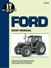 FORD 5640 6640 7740 7840 8240 8340 TRACTOR I&T SHOP MANUAL FO48