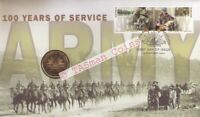 PNC Australian ARMY 2001 100 Years of Service RAM $1 Commemorative Coin