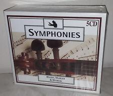 5 CD HAYDN / MAHLER / DVORAK - SYMPHONIES - NUOVO NEW