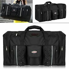 110lbs Large capacity tote Duffle Bag oxford Suitcase Duffle Bag Luggage blakc