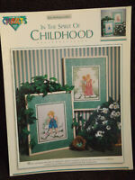 In The Spirit Of Childhood Cross Stitch Leaflet by Color Charts