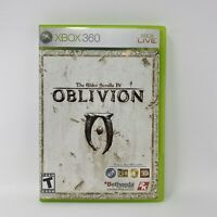 The Elder Scrolls IV: Oblivion (Microsoft Xbox 360, 2006) COMPLETE w Map Tested