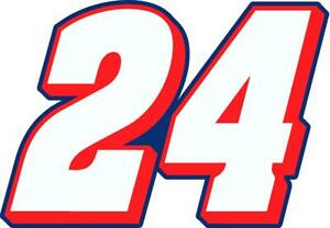 NEW FOR 2021 #24 William Byron Racing Sticker Decal - Sm thru XL - Various color